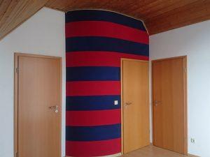 Das Schlafzimmer und Abstellräume