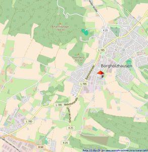 Gute Lage in Borgholzhausen