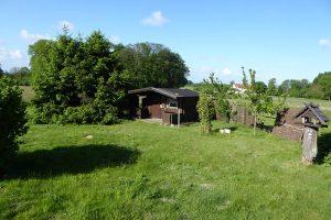 Gartenhaus mit Veranda