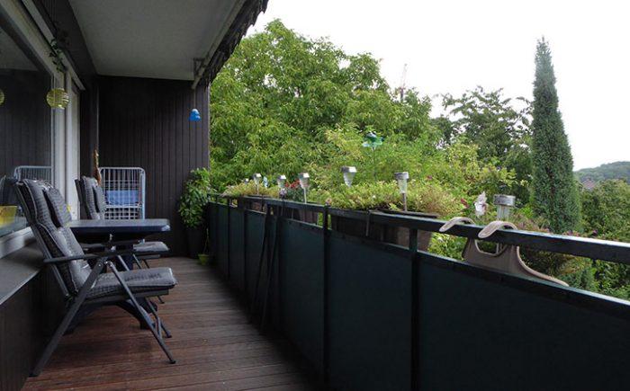 Über den Dächern im Grün