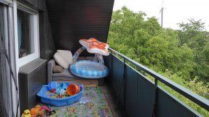 Loggia im Dachgeschoss