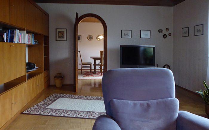 Vom Wohnzimmer zum Esszimmer