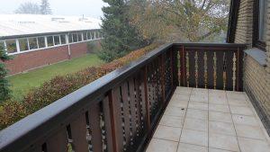 Balkon mit neuem Belag