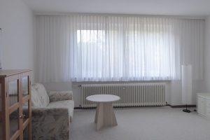 Das Wohnzimmer der Einliegerwohnung