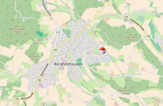Schöne Lage in Borgholzhausen