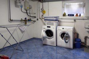 Waschkeller gefliest