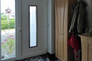 Windfang mit Garderobe