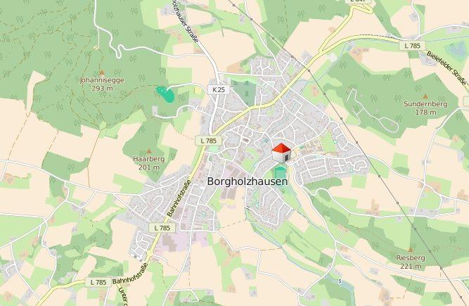 Gute Lage zentral in Borgholzhausen